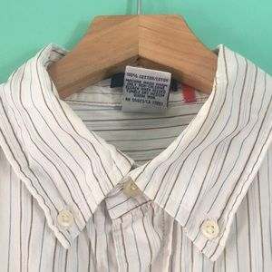 Old Navy- striped button down shirt